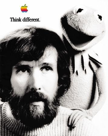 The Steve Jobs Think Different campaign poster director James Kicklighter remembers from Reidsville Elementary School