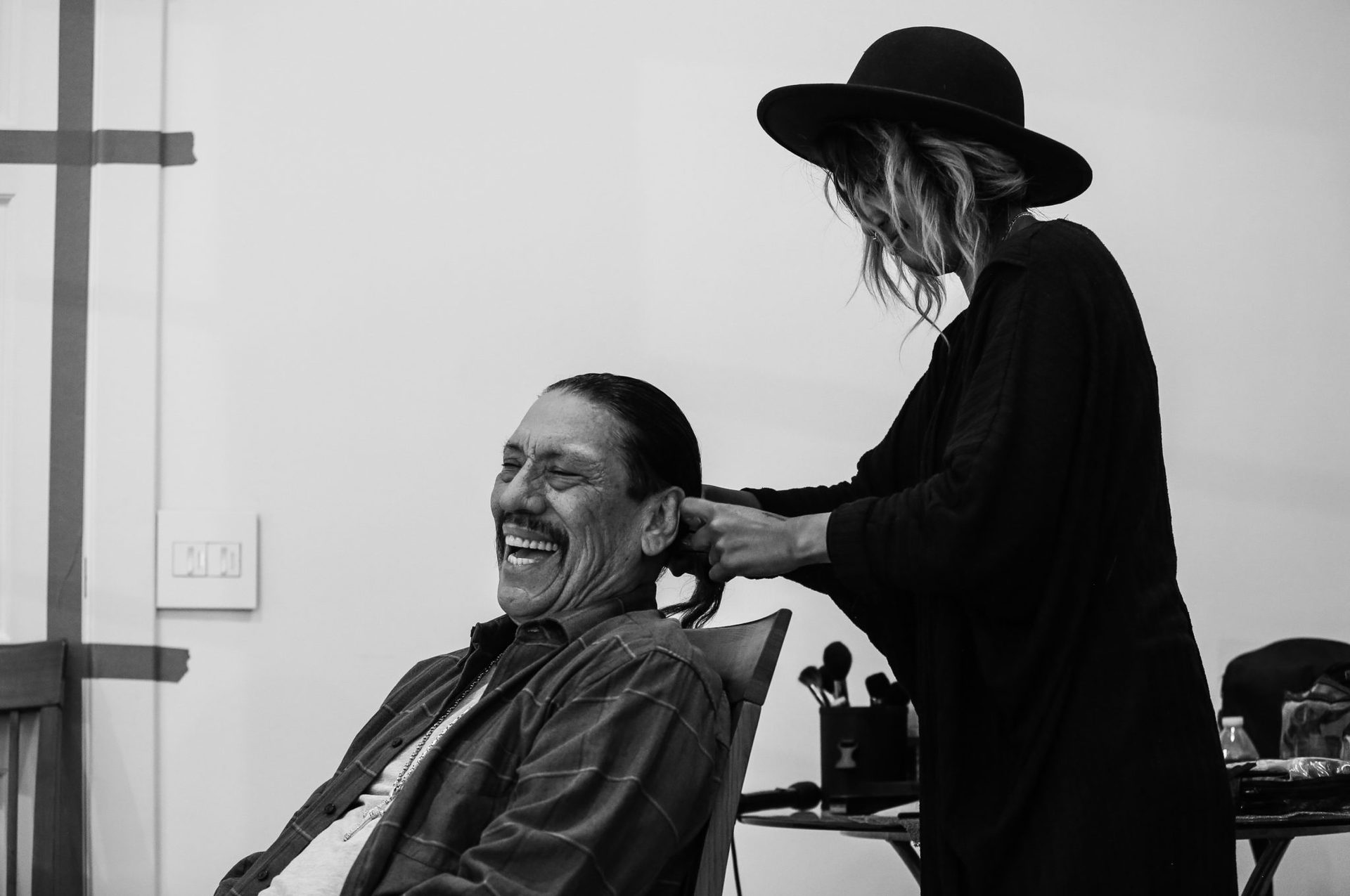 Danny-Trejo-Set-Picture-Every-Nine-Hours-James-Kicklighter