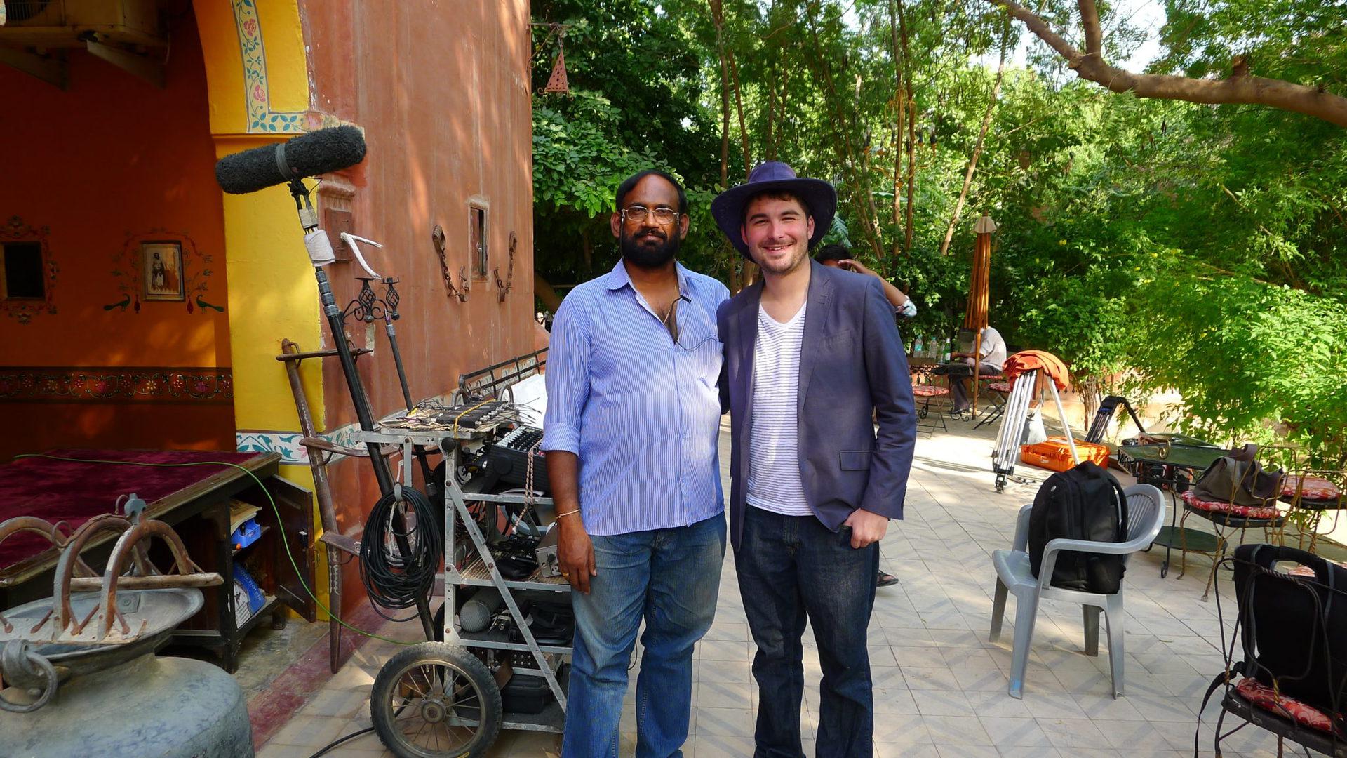 Director-James-Kicklighter-Desires-Of-The-Heart-India-On-Set-Sound