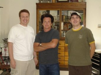 Mark Ezra Stokes, John Mellencamp and director James Kicklighter and filmmaking persistence
